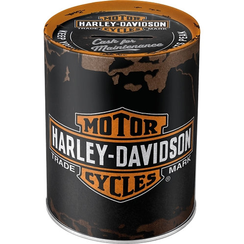 Harley-Davidson Genuine Logo Spardosen 10x13x10