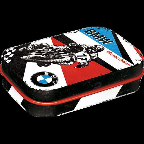 BMW - Motorräder Pillendose 4 x 6 x 2 cm