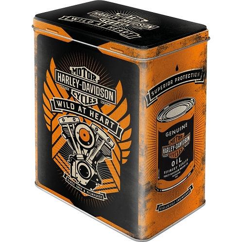 Harley-Davidson - Wild At Heart Vorratsdose L 14x20x10