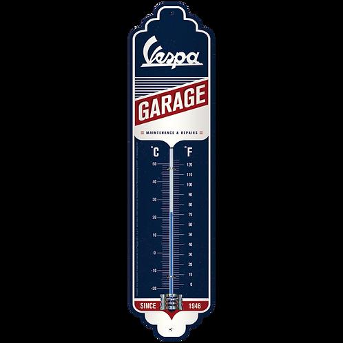 Vespa - Garage Thermometer 6,5 x 28 cm