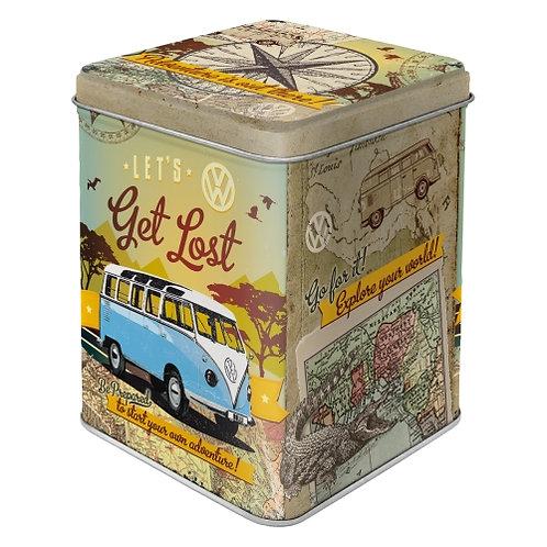 VW Bulli - Let's Get Lost Teedose 8x10x8