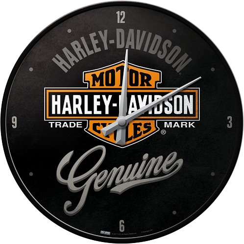 Harley-Davidson Genuine Wanduhr 31x6x31