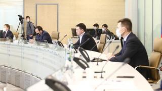 Андрей Воробьев провел совещание с подмосковными предпринимателями в дистанционном формате