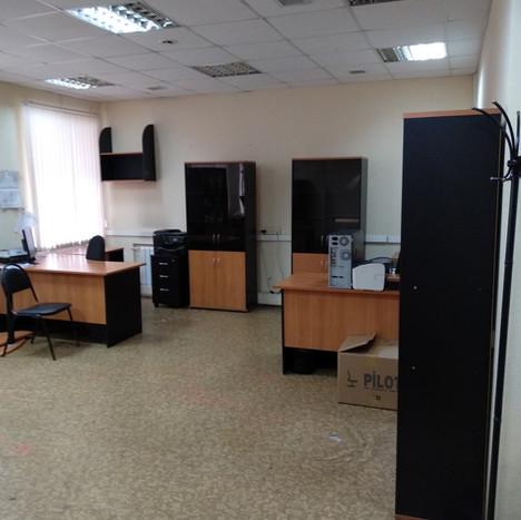 Помещение 20 кв.м., первый этаж       (105 кабинет)