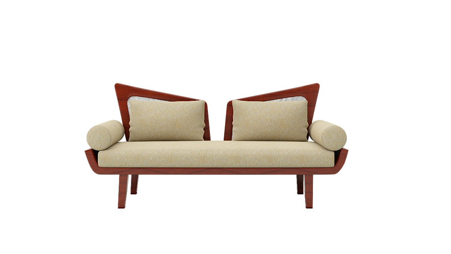 Den Sofa with Bolsters C011