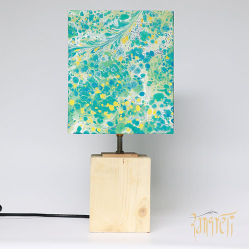 Marbling Square Table Lamp 3001