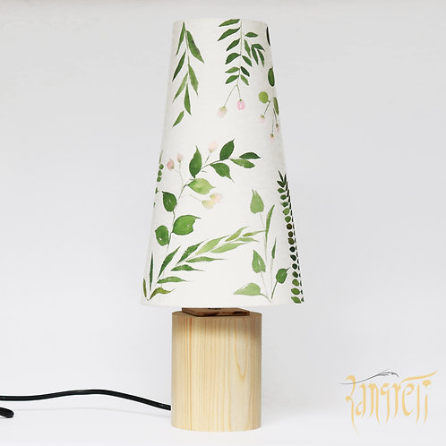 Floral  Long Cone Table Lamp 3008