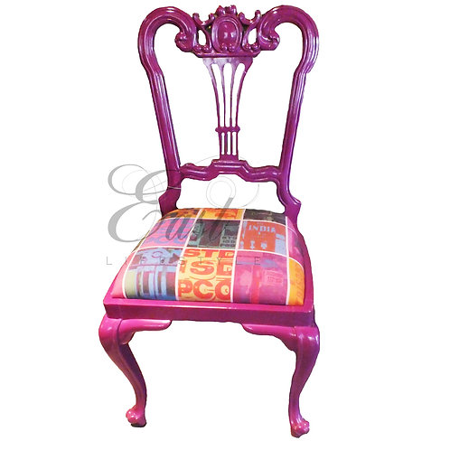 Pink Pondicherry Chair C 447