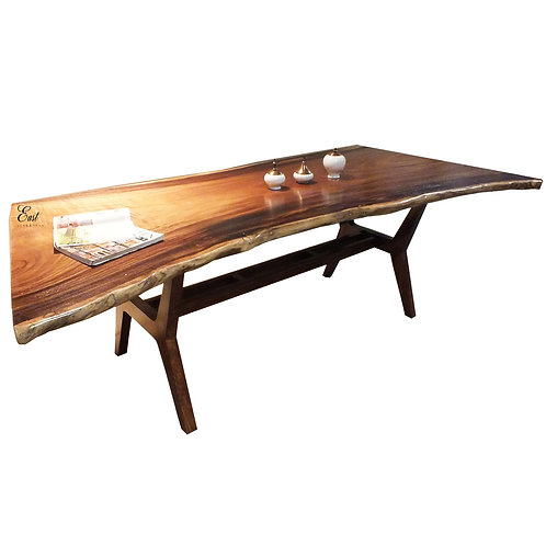 Pablo Slab Live Edge Dining Table 1496