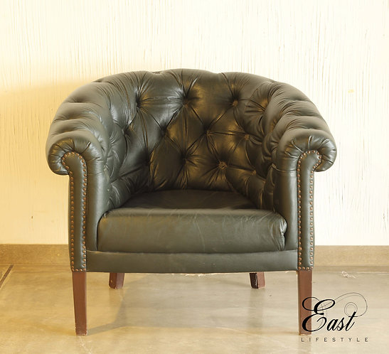 Chesterfield Single Seater Leather 987