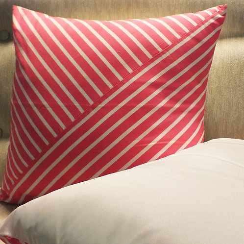 Pink Candy Cotton Cushion Cover