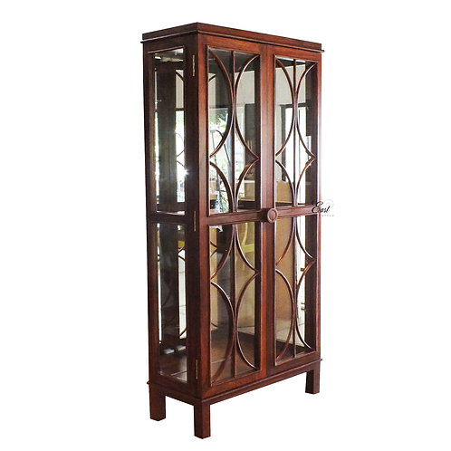 Calista Tall Curio Cabinet 1273
