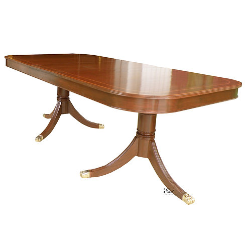 Cluster Legs Expandable Oval Dining Table 1083