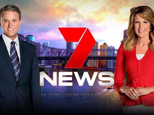 Channel 7 News Brisbane features Safe Haven