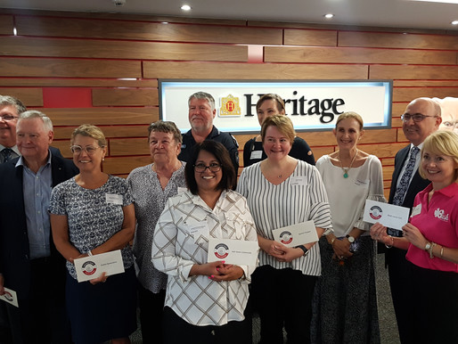 Heritage Bank grant supports our work in Toowoomba
