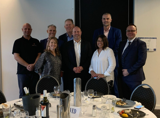 Federal Treasurer learns about the work of Safe Haven