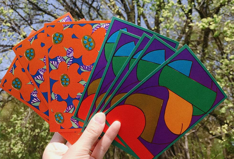 Deadstock 1960s Poppy + Peace Postcards ✿10 Pack✿