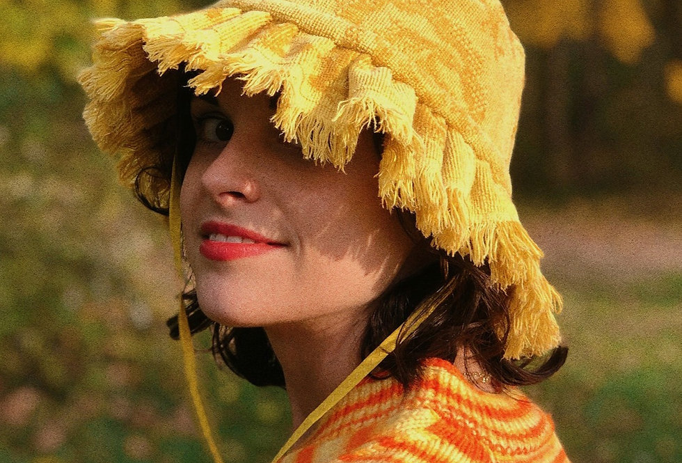 The Anna Terry Towel Hat with Fringe