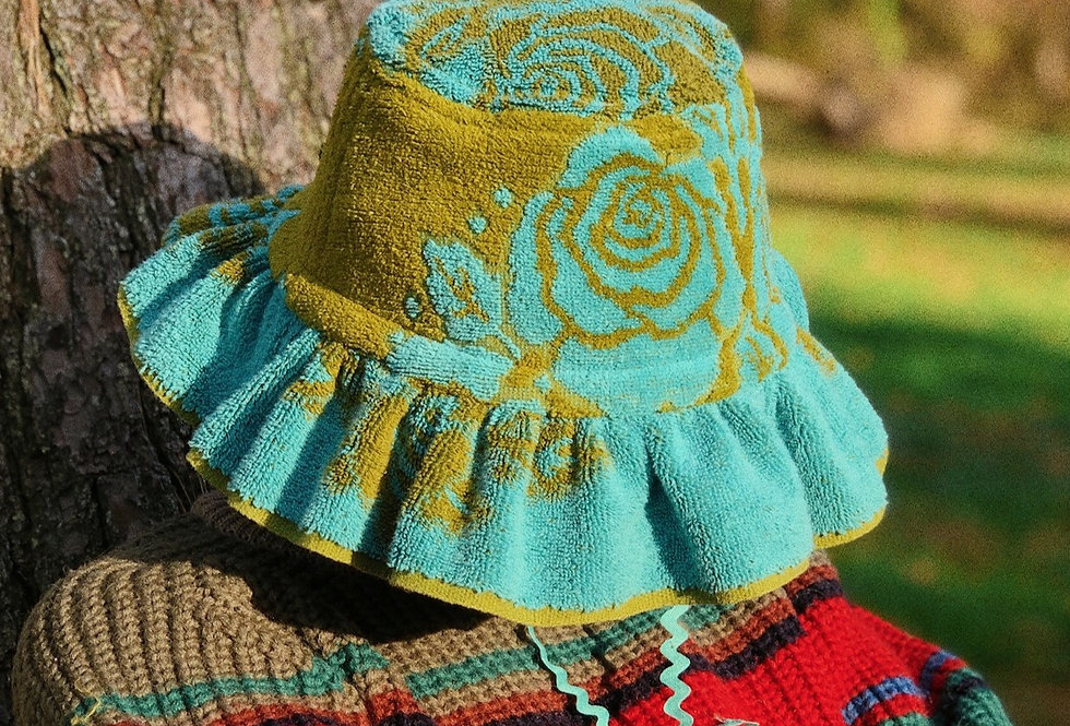 The Cecelia Terry Towel Hat