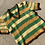 Thumbnail: 70s Yellow, Green and Brown Striped Crochet Top