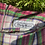 Thumbnail: SZ 4/6 Jawbreaker Pink + Lime 90s Plaid Mini Skirt