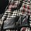 Thumbnail: 80s Houndstooth Plaid Leather Mixed Moto Jacket
