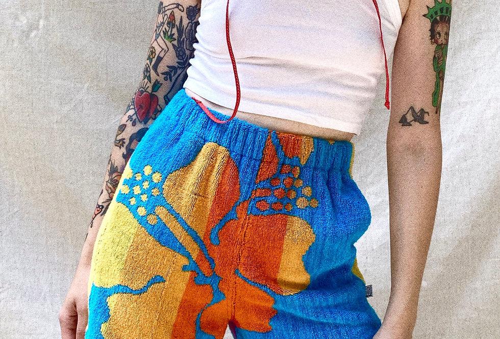 SM Straight to Hawaii Towel Shorts