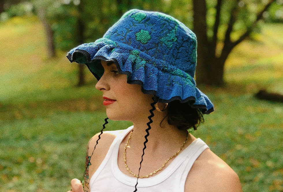 The Brandy Terry Towel Hat