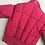 Thumbnail: 80s Red Cropped Puffer Jacket