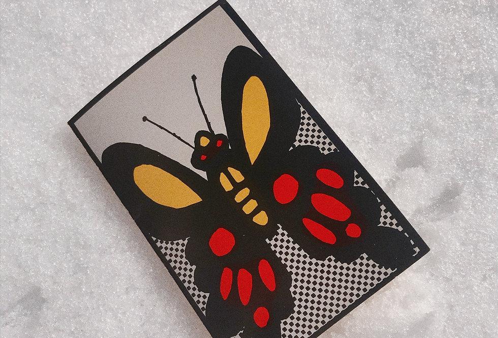 Deadstock 1960s Butterfly Card