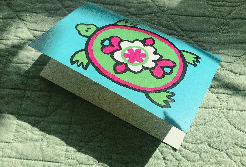 Deadstock 1960s Turtle Card