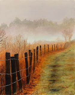 fenceline mist