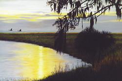sunset matanzas inlet edited