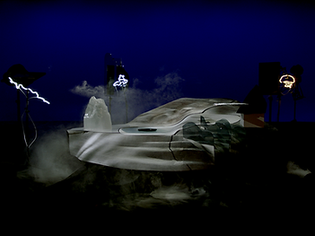 Mass, June Balthazard, Pierre Pauze, Biennale de Taipei 2020, Taipei Biennial 2020, Bruno Latour, Martin Guinard, Taipei Fine Arts Museum, TFAM, Gaïa, écologie, ecology, CERN, Arts at CERN, boson de Higgs, Higgs boson, particule de Dieu, God particule, magical realism, installation, video, sculpture, art contemporain, contemporary art
