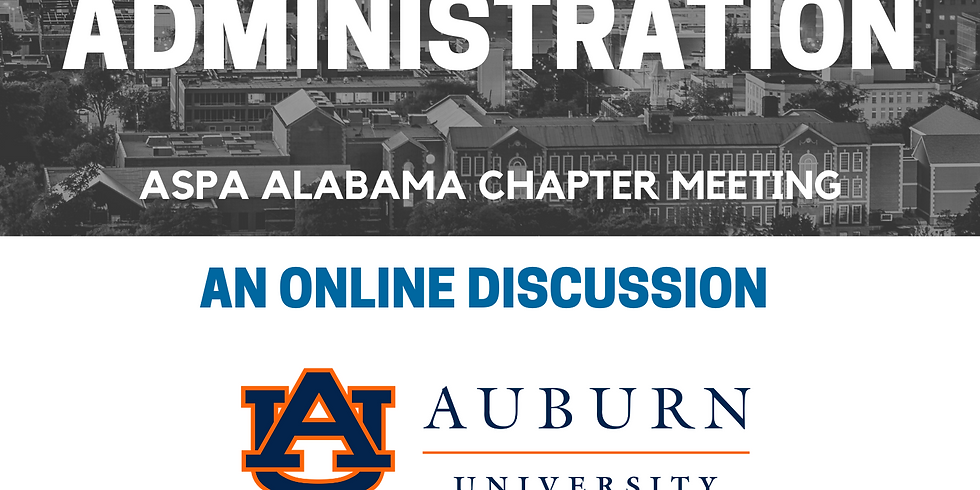 ASPA AL Chapter Meeting: Social Equity in Public Administration