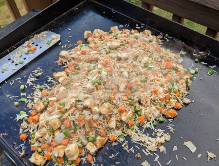 Better Than Takeout- Chicken and Veggie Fried Rice