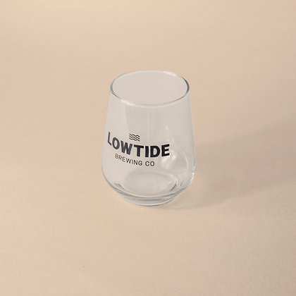 Lowtide Brewing Co Branded Glass