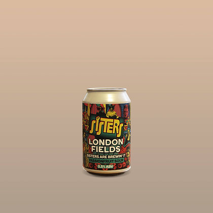 London Fields Brewery - Sisters Are Brewin' It Passionfruit Sour 0.5% 330ml