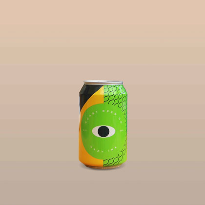 Coast Beer Co - Hazy IPA 0.3% 330ml