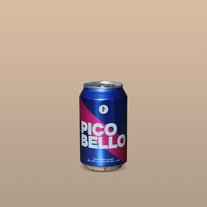 Brussels Beer Project - Pico Bello Hazy IPA 0.3% 330ml