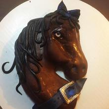 Carved Equestrian Cake