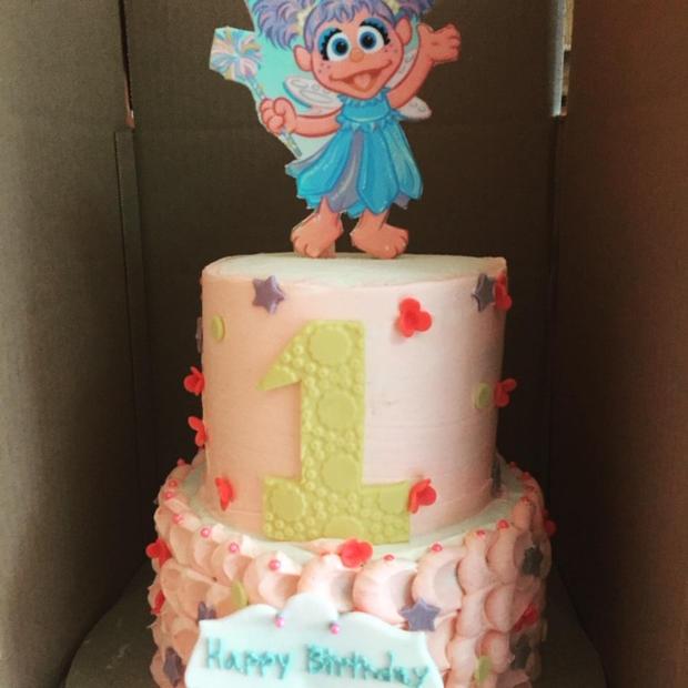 Sesame Stree Birthday Cake