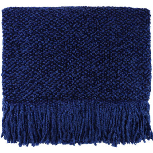 Bedford Cottage Campbell Indigo Throw Blanket