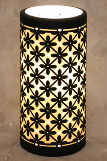 Marrakesh Porcelain Silhouette Accent Lamp
