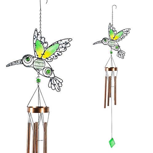 Glow in the Dark Hummingbird Wind Chime