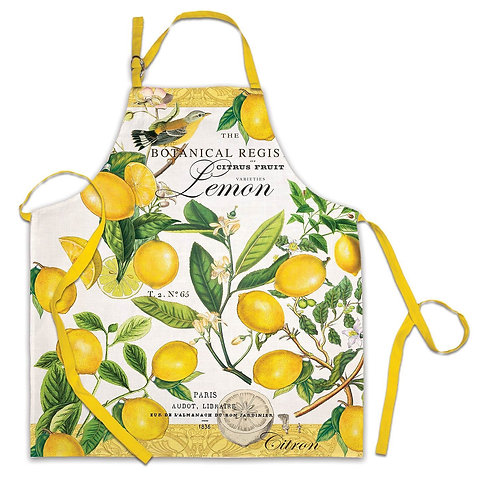 Lemon & Basil Apron