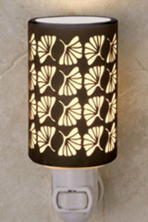 Ginko Porcelain Night Light