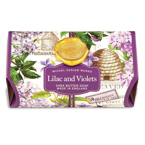 Lilac & Violets Large Bar Soap