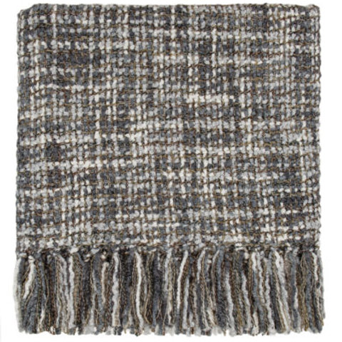 Bedford Cottage Hanover Charcoal Throw Blanket