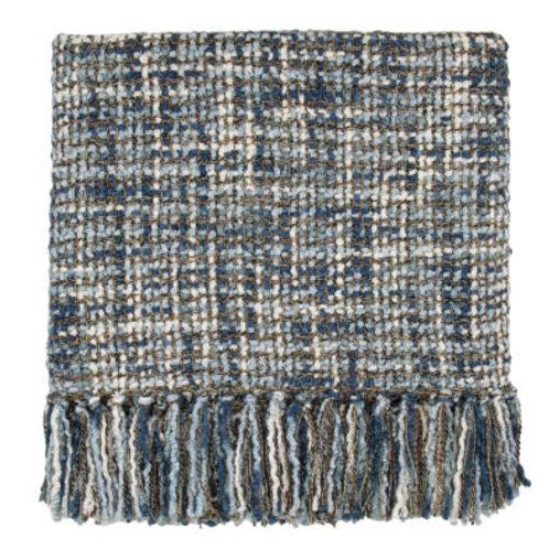 Bedford Cottage Hanover Denim Throw Blanket